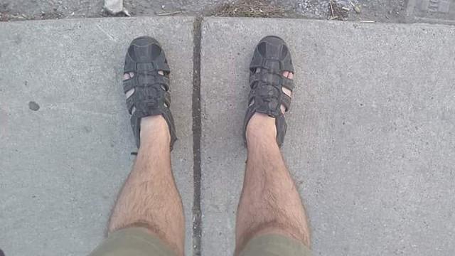 No rules #toronto #dovercourtvillage #sandals #spring