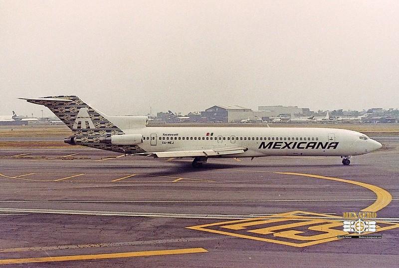 Mexicana / Boeing 727-264 (Adv) / XA-MEJ
