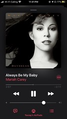 Mariah Carey Always Be My Baby ??? Daydream (Studio Album) #mondaymusic #mariahcarey #alwaysbemybaby #daydream #daydreamalbum #fifth #studioalbum #pop #randb #applemusic #darkmode