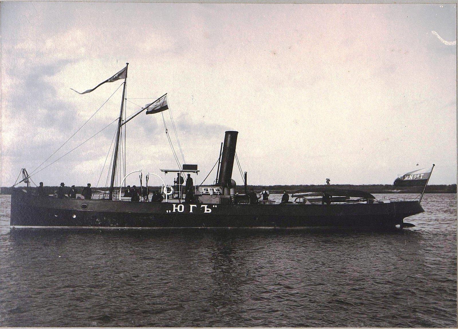 14. Буксирный пароход «Юг»
