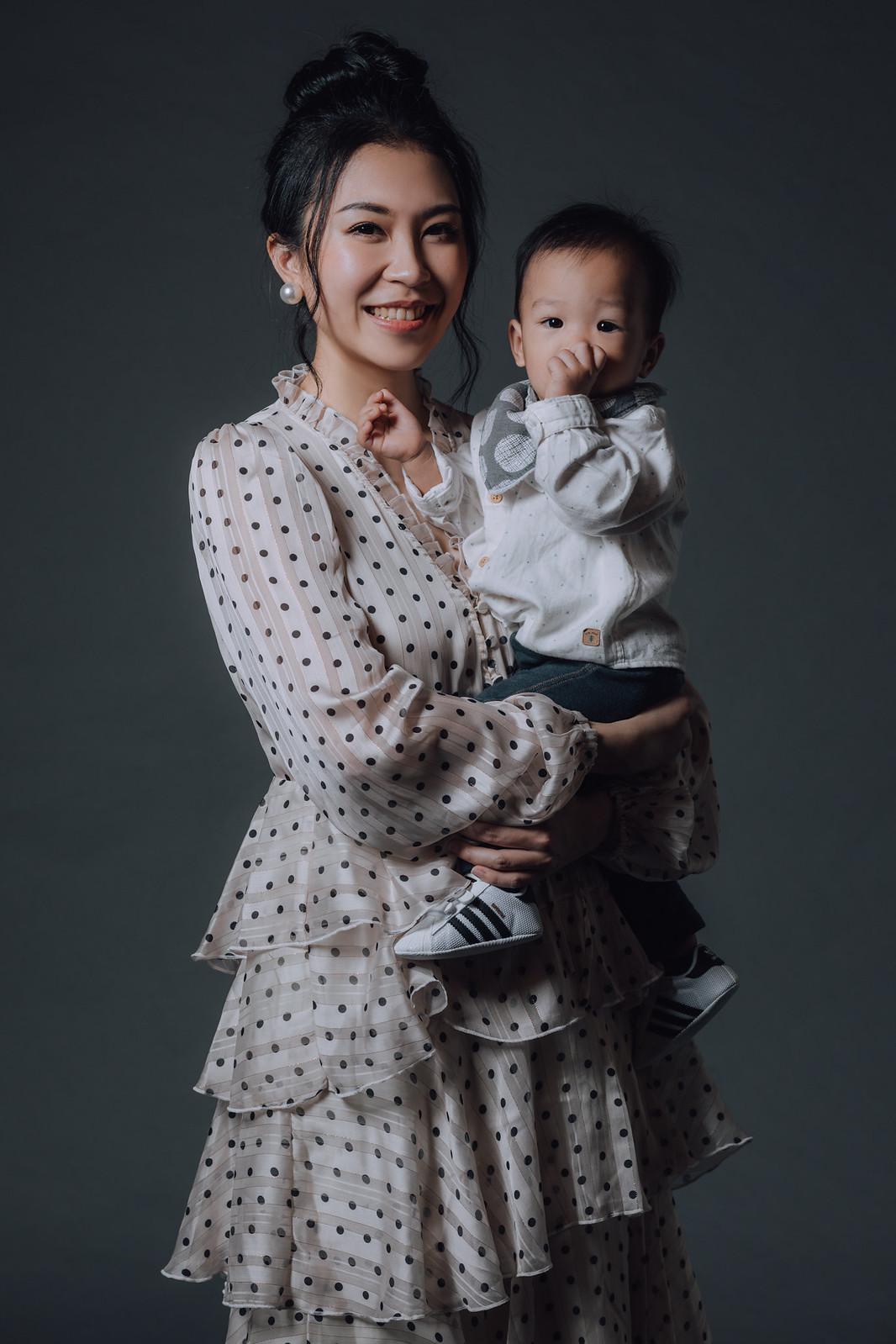 《全家福寫真》君君 / 攝影師 Eric Yeh / 良大攝影工作室