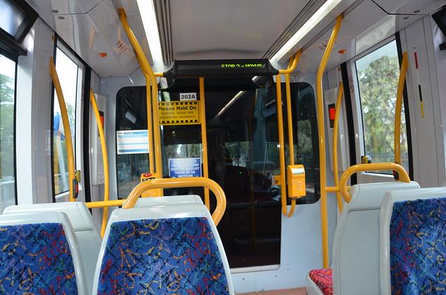 DSC_1154 interior of Glenelg Tram 204, Wayville, South Australia
