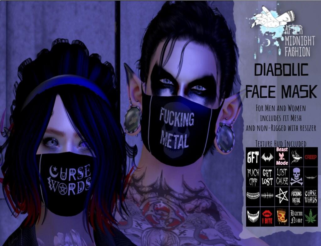 ::AMF:: Diabolic Face Mask AD