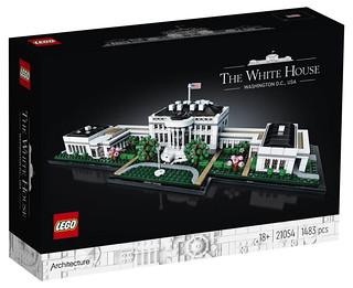 無人不知的美國地標雄偉再歸來! LEGO 21054 建築系列【白宮】The White House
