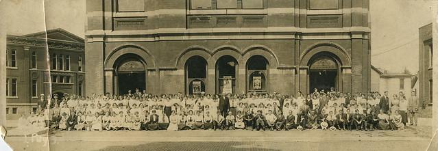 Pedagogy Class Group Photograph, Valparaiso University, circa 1912 - Valparaiso, Indiana