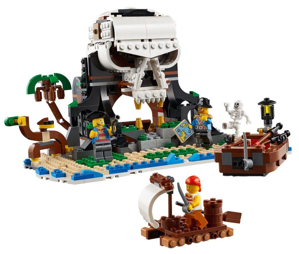 又一艘海盜船即將入港! LEGO 31107~31109 創意系列 2020 下半年三款盒組公開(LEGO Creator 2020 Summer Sets)