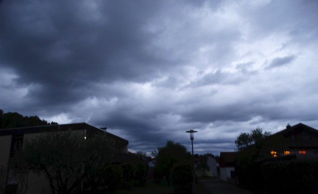 Abendstimmung Wolken