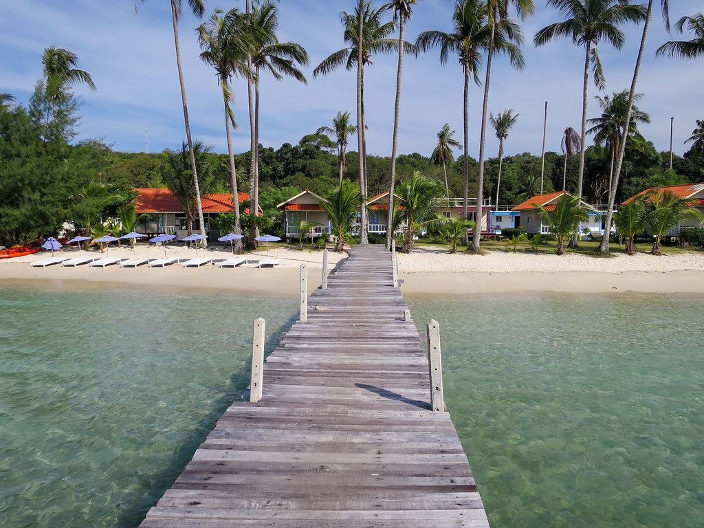 Siam Beach Resort Pier
