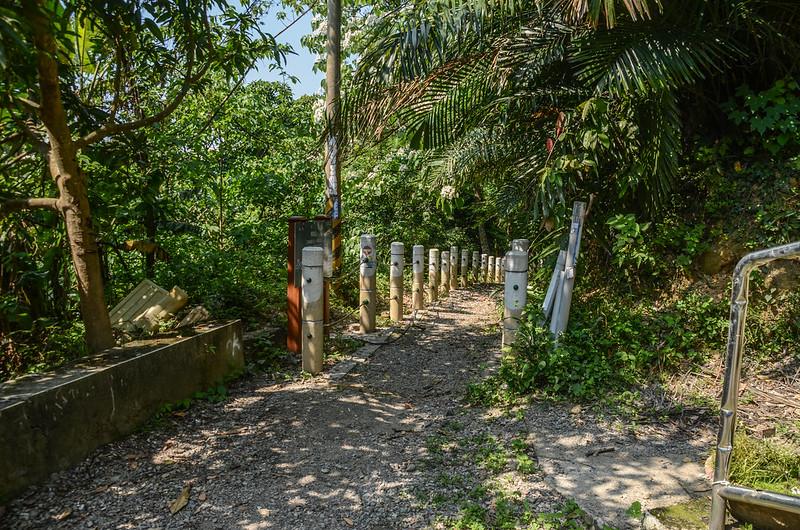 釋迦山登山步道口