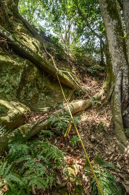 山羊凸山山頂下巨岩地形 (4)