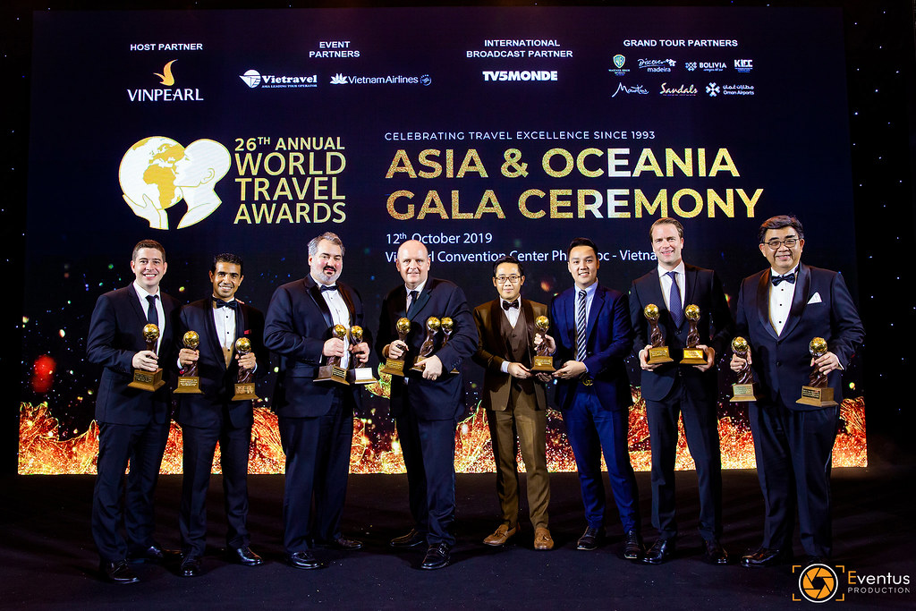 Sự kiện Asia & Oceania Gala Ceremony