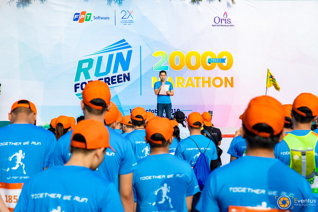 Giải chạy Run For Green - FPT Software