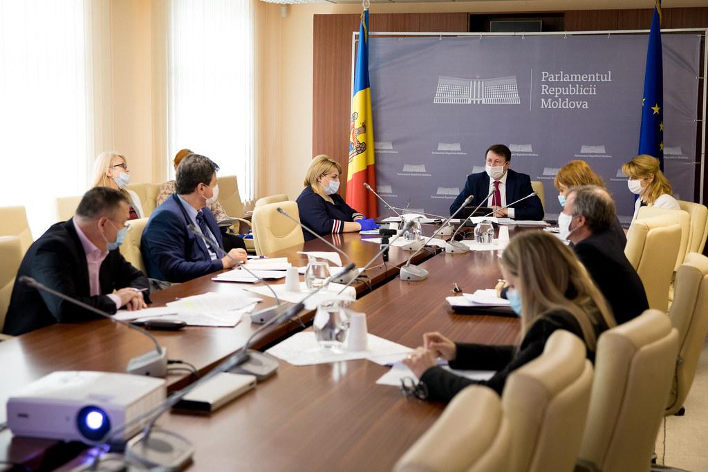 05.05.2020 Ședința Comisiei control al finanțelor publice
