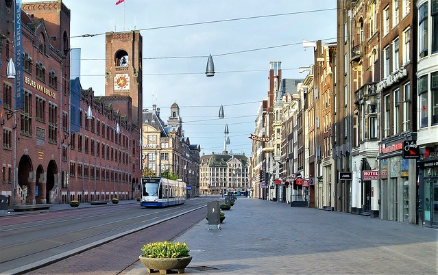 De Stille Stad: Dromend Damrak