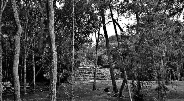 MEXICO, Campeche, Mayastätte Balamkú, 19716/12632
