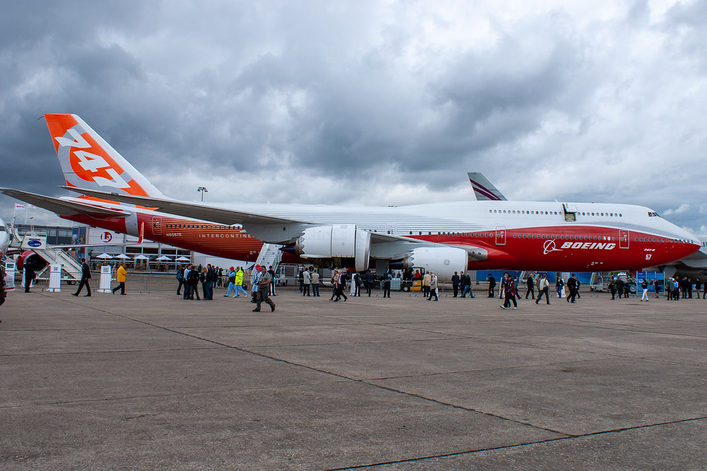 N6067E | Boeing 747-8I | Boeing Company