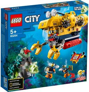 LEGO 60263~60266 城市系列「大洋探險家」主題 2020 下半年四款盒組公開(LEGO City Ocean Explorer 2020 Summer Sets)