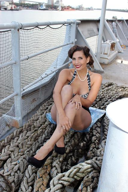 Model on Deck