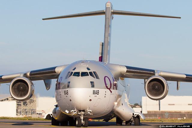 Qatar - Air Force Boeing C-17A Globemaster III A7-MAB cn F-209