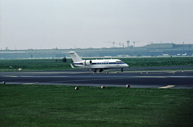 14.5.1992 Flughafen Tempelhof Luftwaffe Flugbereitschaft