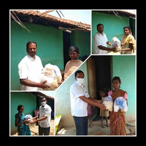 VKV Kallubalu Corona Relief Work