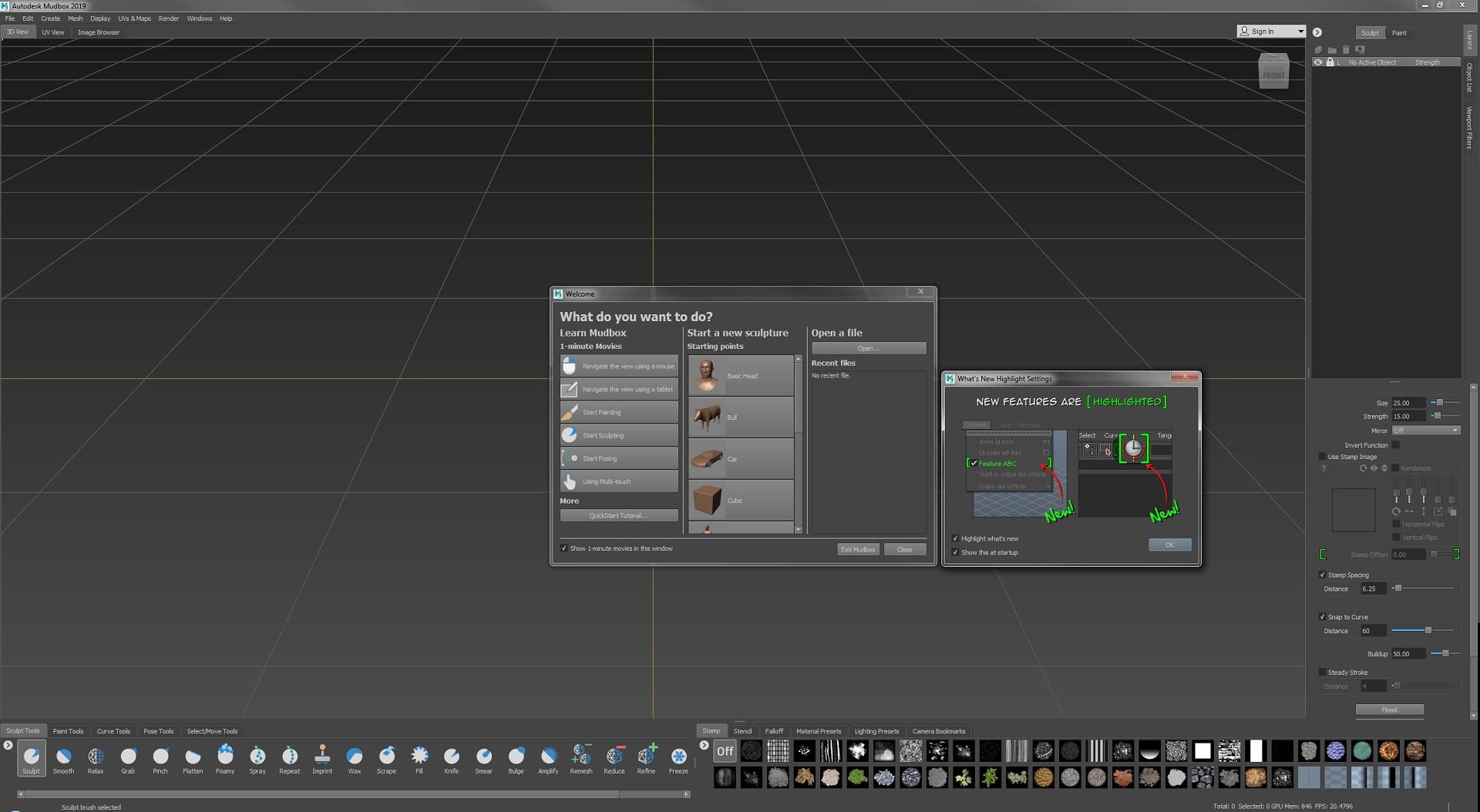 Working with Autodesk Mudbox 2019.1 full license
