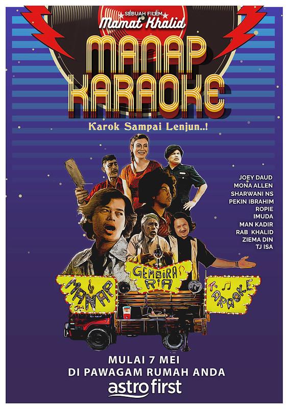 Poster Manap Karaoke