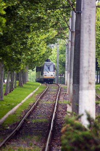 landscape bucurești românia sector3 tram trsnsportation lines urban city outdoor canoneos40d
