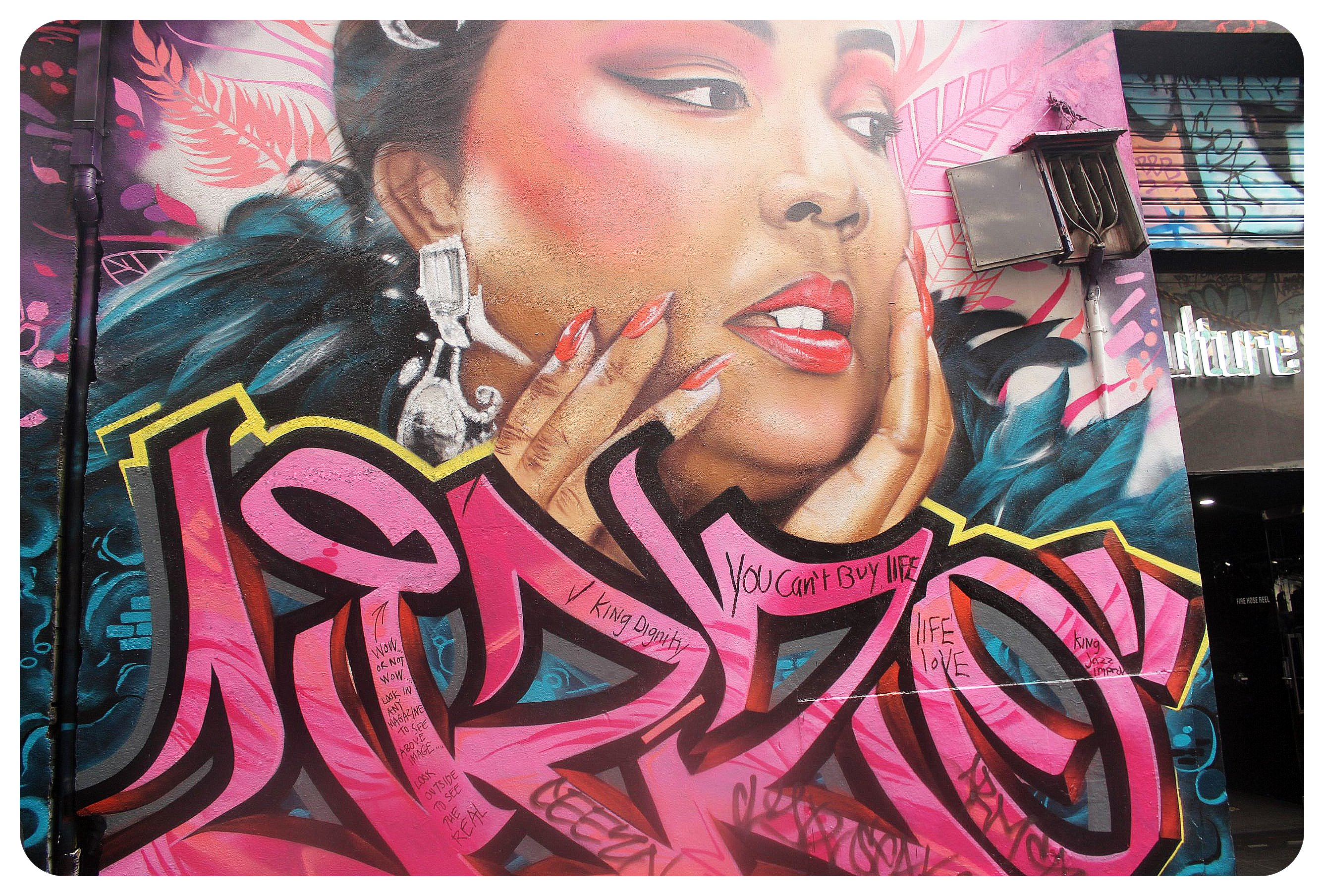 lizzo street art melbourne