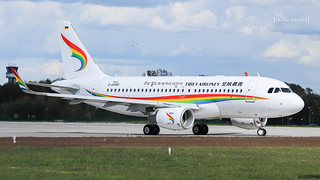 B- TIBET AIRLINES AIRBUS A319-115(WL) cn 9448 | by F.Krause