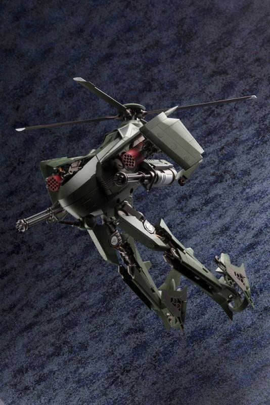 可變形重武裝直昇機登場  壽屋《HEXA GEAR 六角機牙》1/24 KIT BLOCK Steelrain(スティールレイン)
