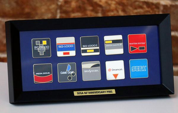 9款經典遊戲機化身郵票~SEGA 成立 60 周年紀念活動 日本郵局推出限定「紀念郵票套組」(セガ設立60周年 記念フレーム切手)