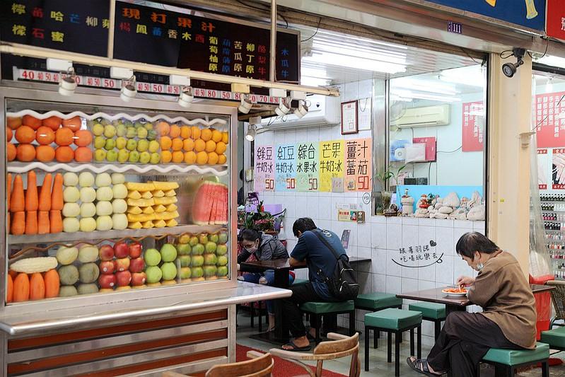 龍山寺美食華西街珍果01