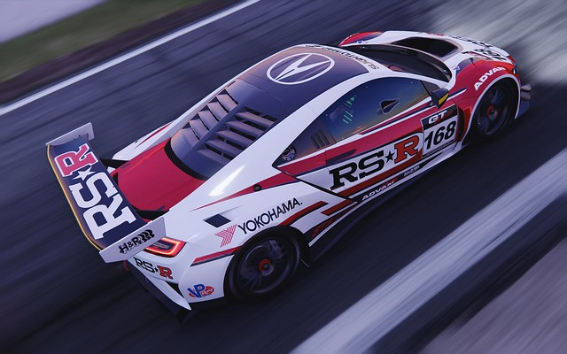 Acura NSX x RS-R x ProjectCars