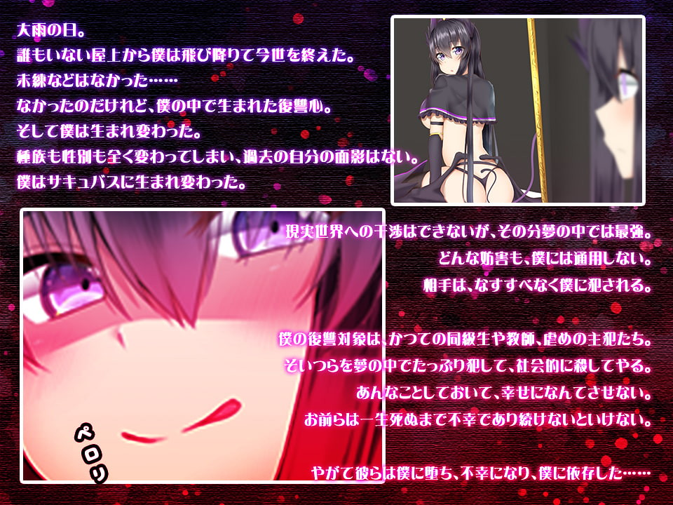 Succubus Reincarnation Revenge Story ~Sexual Retaliation~