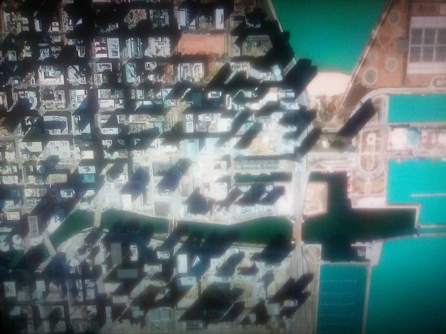Chicago on my screen #toronto #chicago #satelliteimage #googleearth #googlehome #television
