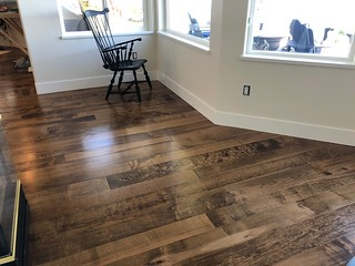 Pacific Maple custom tinted 1N 1Chestnut | by Woodlandflooring