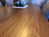 White Oak Dining Table tinted Saicos Grey