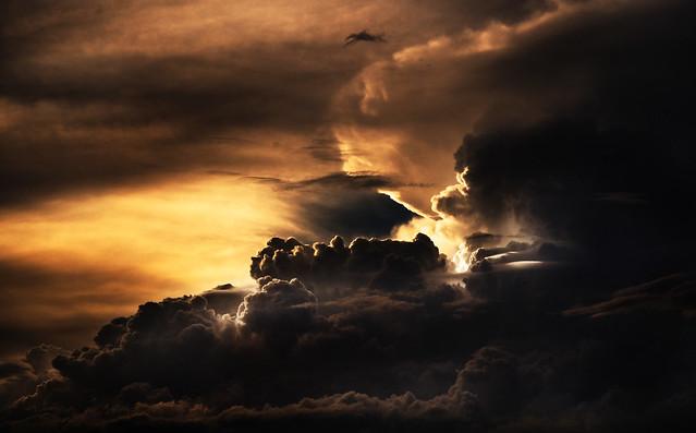 un ciel apocalyptique