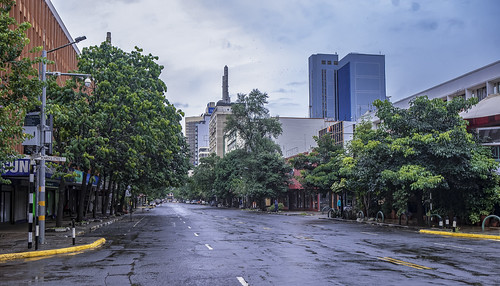 Empty Nairobi street | by World Bank Photo Collection