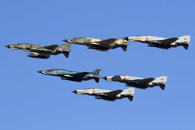 77-6397 / Japan Air Self-Defence Force / McDonnell Douglas RF-4EJ Kai Phantom II
