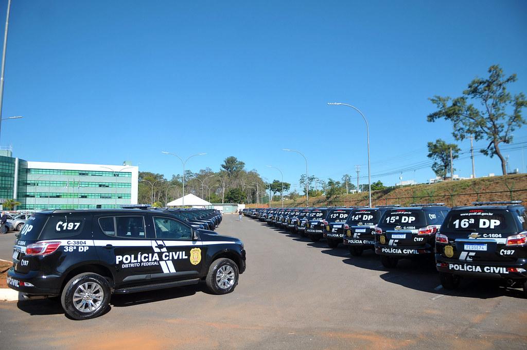 Entrega de 50 Viaturas para a Polícia Civil do DF