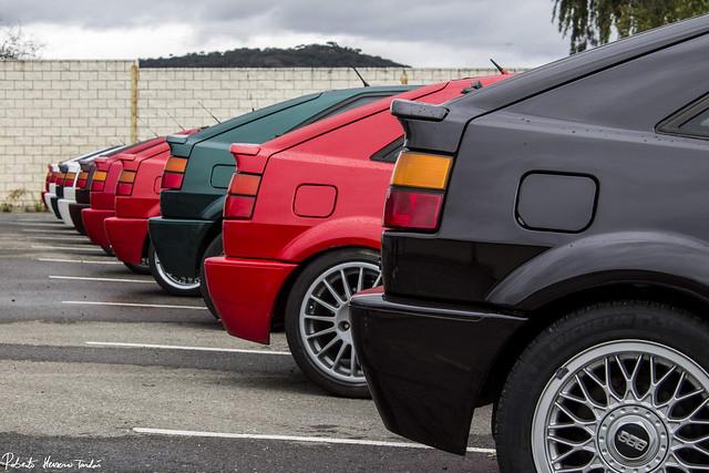 Volkswagen Corrado Concentration in Plasencia (Spain)