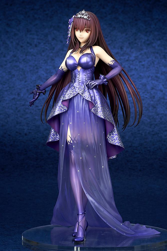 師匠換上絕美禮服!quesQ《Fate/Grand Order》Lancer/斯卡薩哈 英靈正裝ver. (ランサー/スカサハ 英霊正装)1/7比例模型