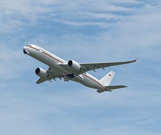 Delivery Flight msn416 F-WJKM 5/5/2020