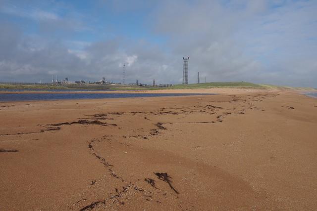 The coast near St Fergus