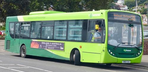 SN60 EAG 'First South West' No. 67705 'the buses of Somerset'. Alexander Dennis Ltd. (ADL) Enviro 300 / 'ADL' Enviro 300 /2  on Dennis Basford's railsroadsrunways.blogspot.co.uk'