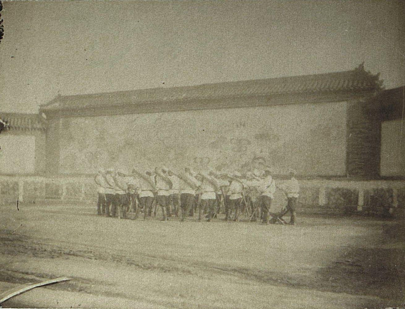 1898. Порт-Артур. Музыкальное выступление военных