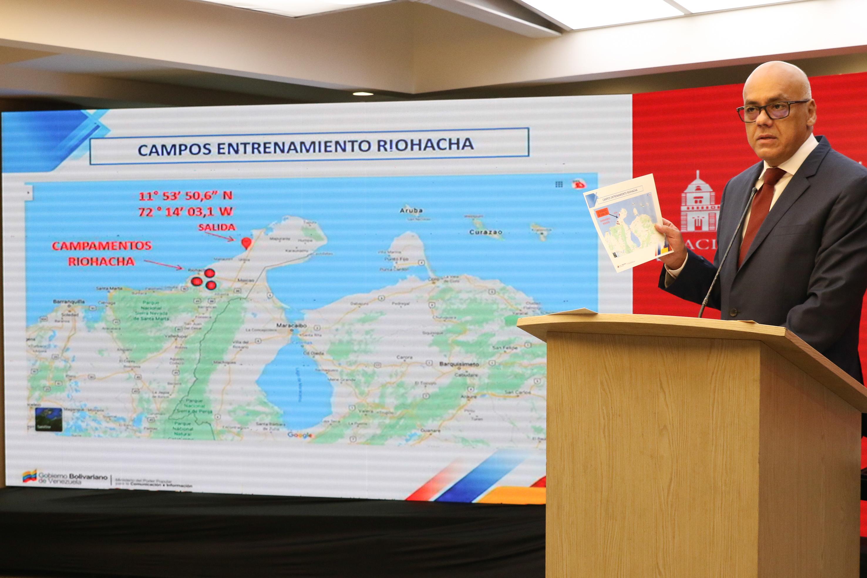 Venezuela atribuye a EEUU y Colombia incursión armada para llenar de violencia al país