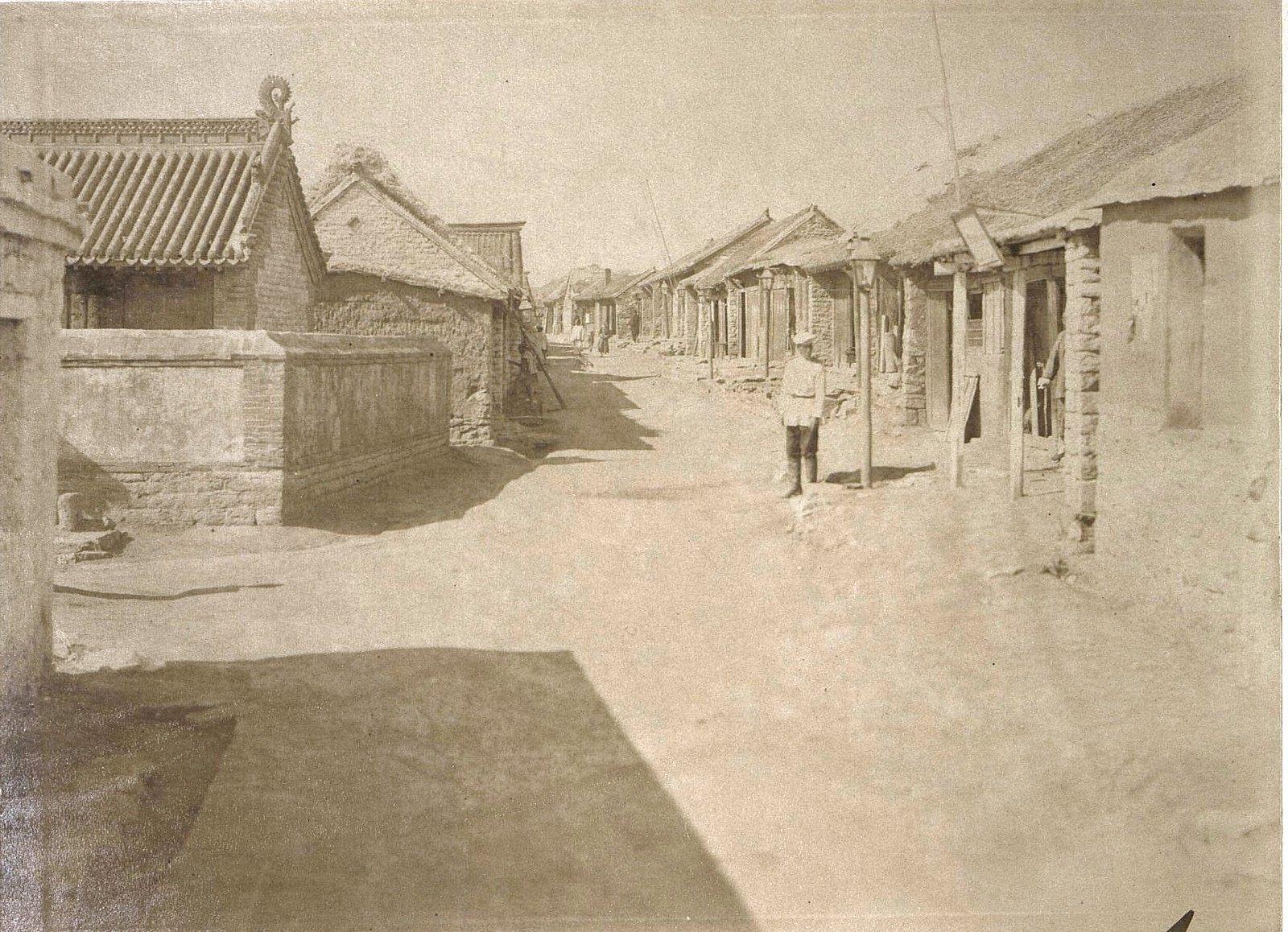 1898. Китай, Талиенванский «Невский проспект»